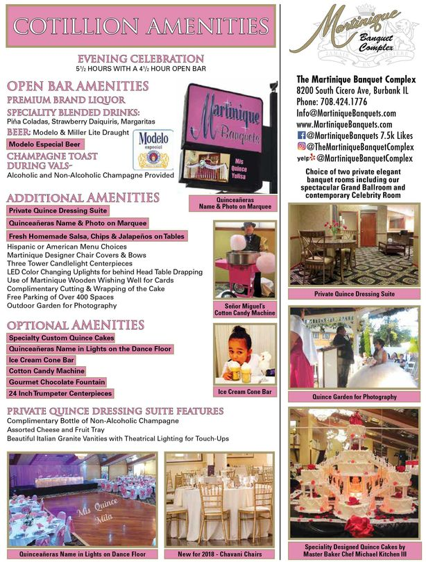 cotillion amenities packages