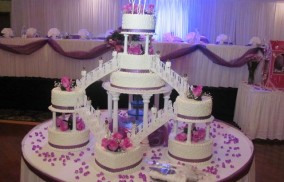 Martinique Custom Cake