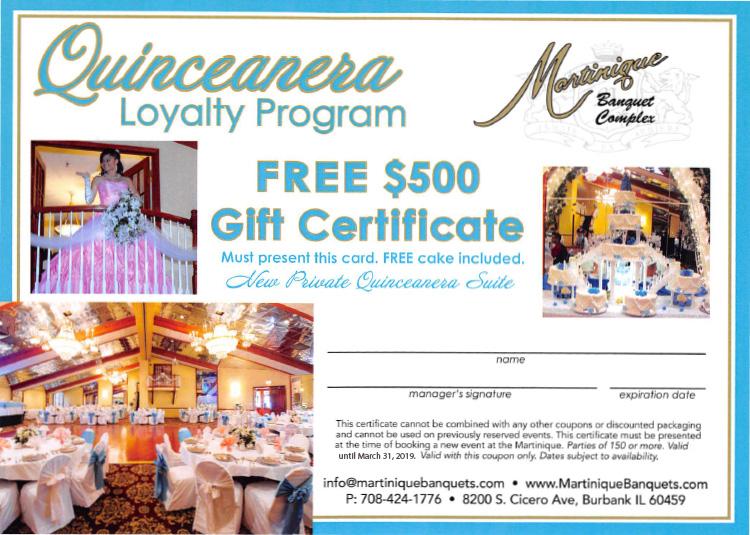 quincenara gift-card