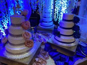 Double quinceanera cakes