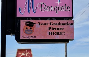 Graduation  Outdoor Marquee
